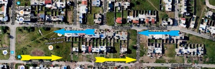 mapa olga orozco