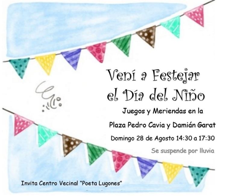 Dia del Ninio Poeta Lugones